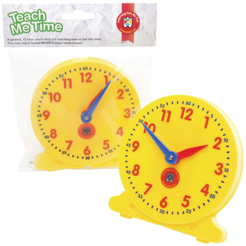 Learning Advantage Teach Me Time Clock