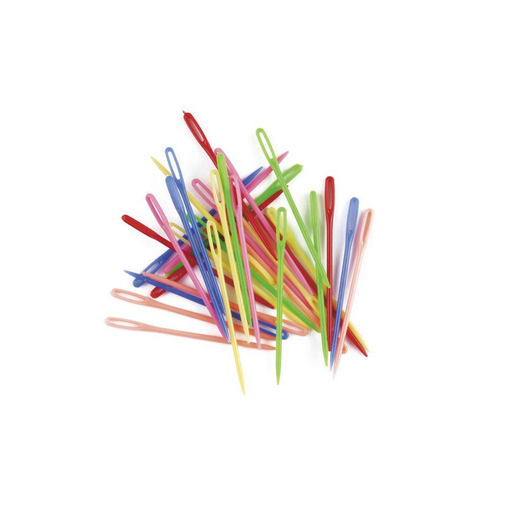 EDPN32 educolours cso pk32 plastic needles 75mm multi