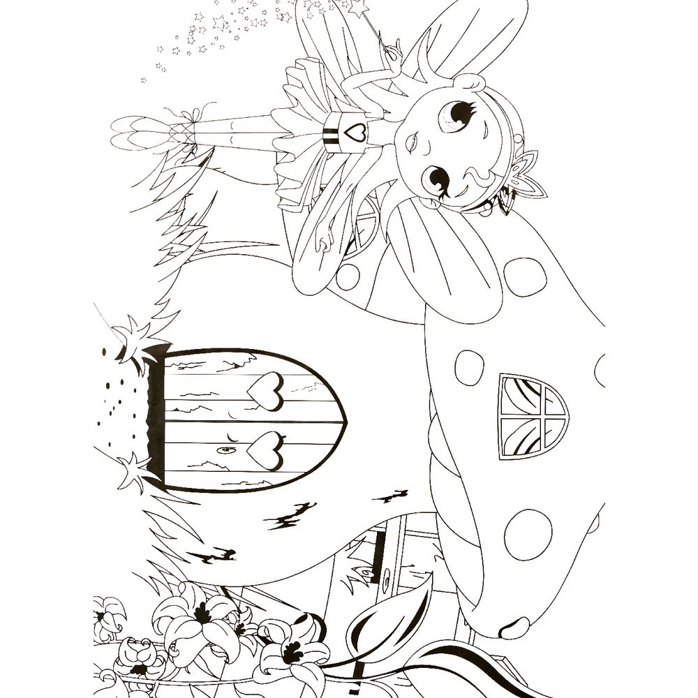 ELC Giant Colouring Posters Fairy Design 2 Pack | Officeworks