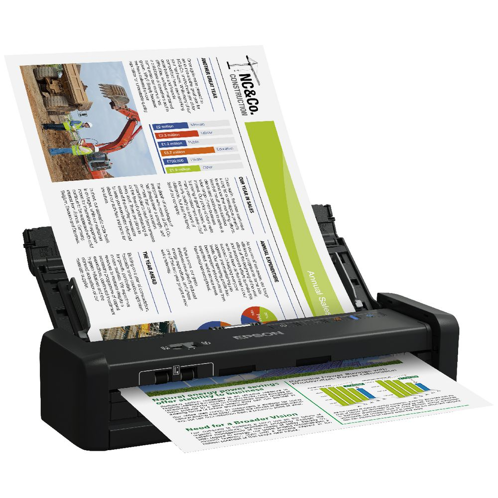 Epson WorkForce A4 Document Scanner DS-360W | Officeworks
