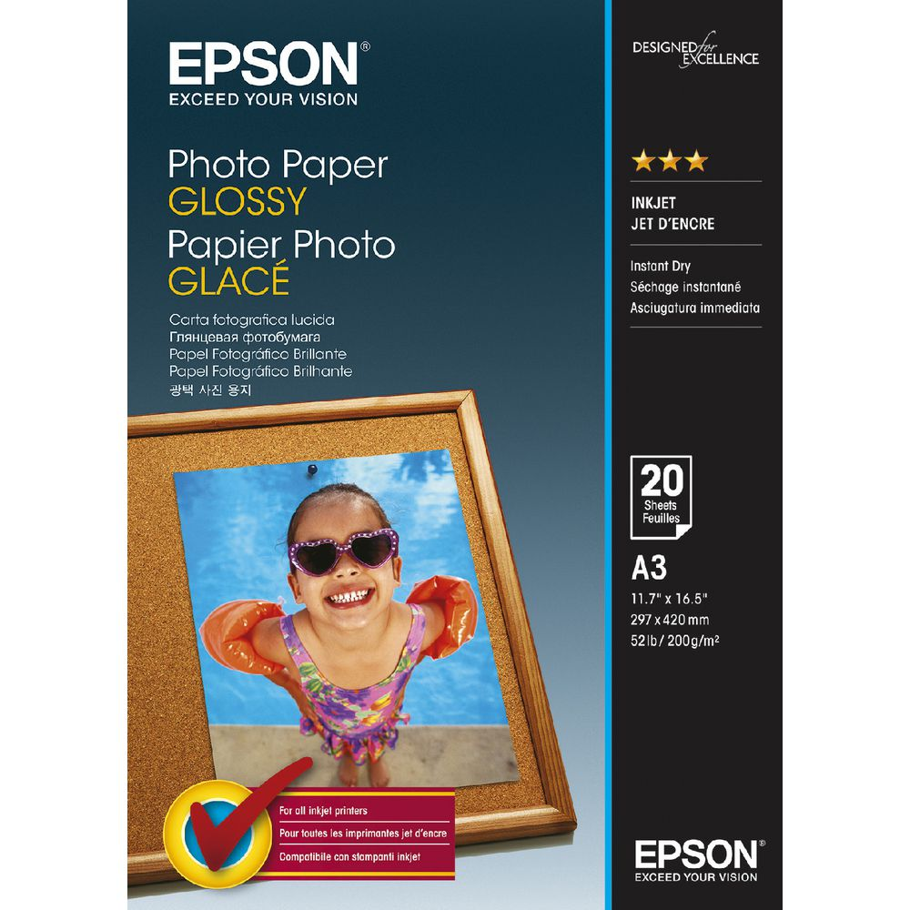 how to give paper a glossy finish