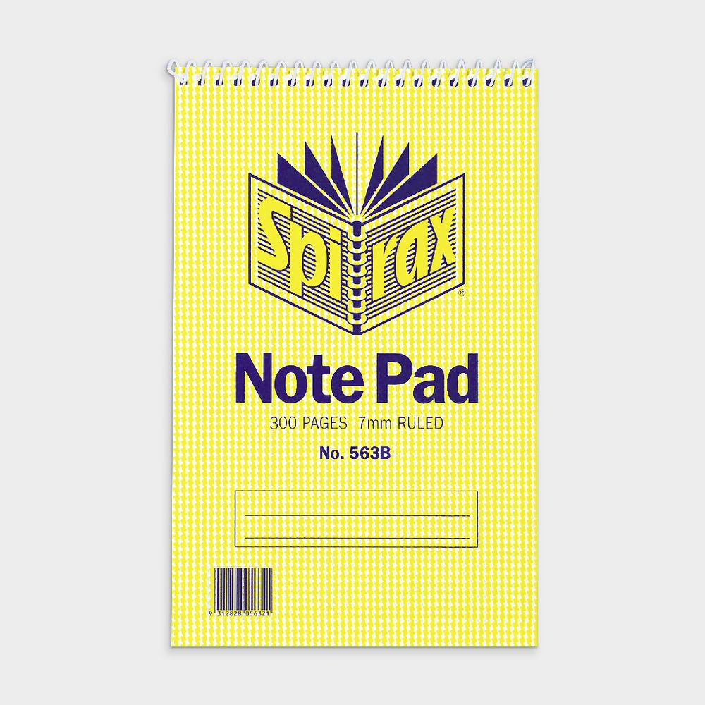 Pack Of 3 Spiral Reporter Shorthand Note Pad Lined Ruled 100 Pages Per Pad