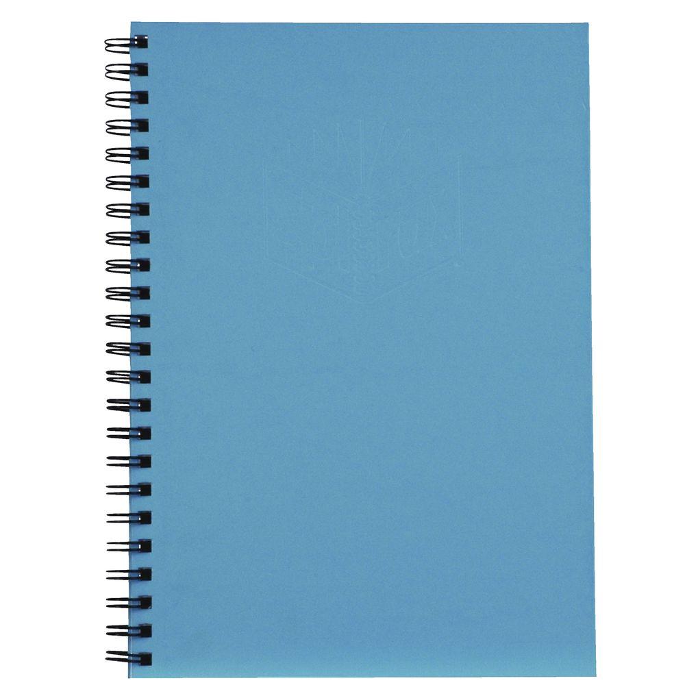 Book Cover Paper Zip Code : Spirax hard cover notebook a blue officeworks