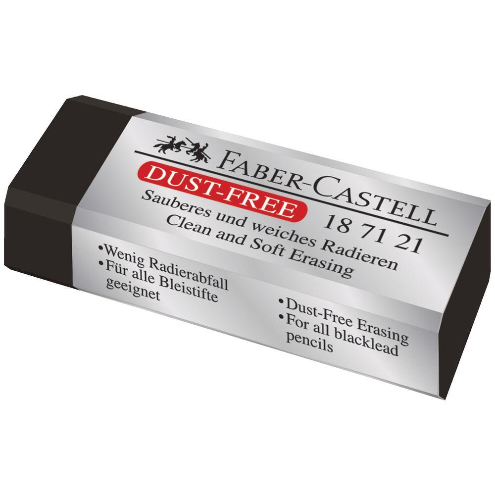 fabercastell dust free eraser black 9556089006866  ebay