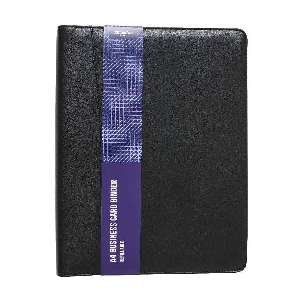 Jburrows business card binder black officeworks jburrows business card binder black magicingreecefo Image collections