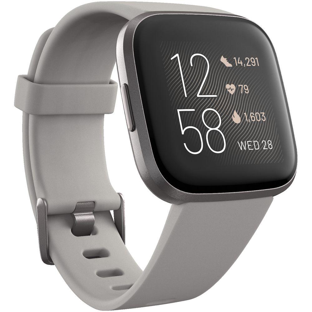 Fitbit Versa Smartwatch Large Black for sale online