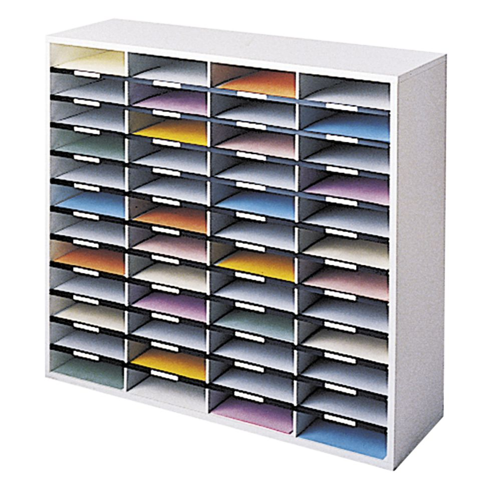 Fellowes Literature Sorter 48 Compartment Officeworks