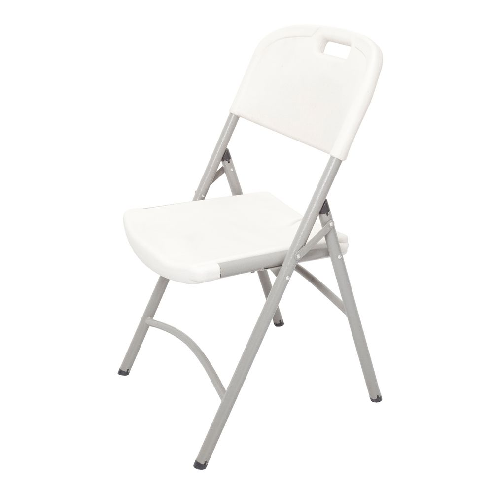 White plastic folding chairs - Rapidline Plastic Folding Chair White