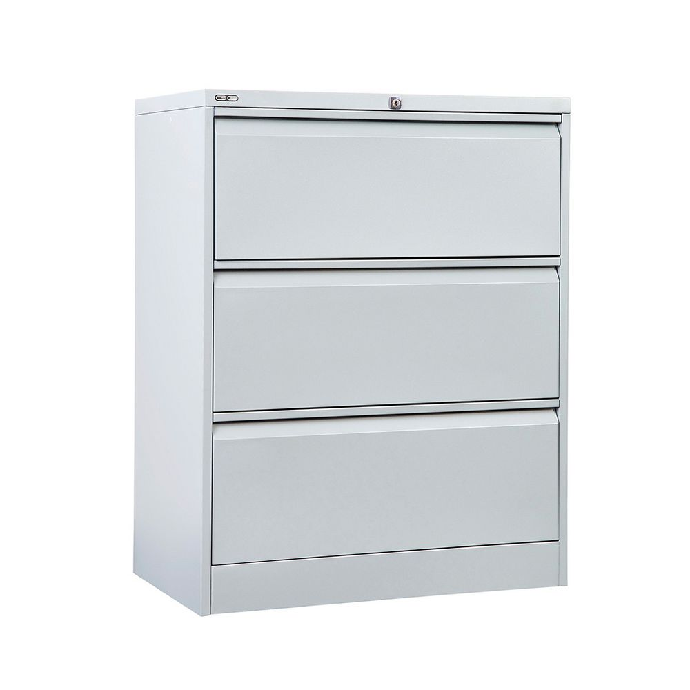 Metal 4 drawer filing cabinet silver and black bar cabinet for Black and silver cabinet