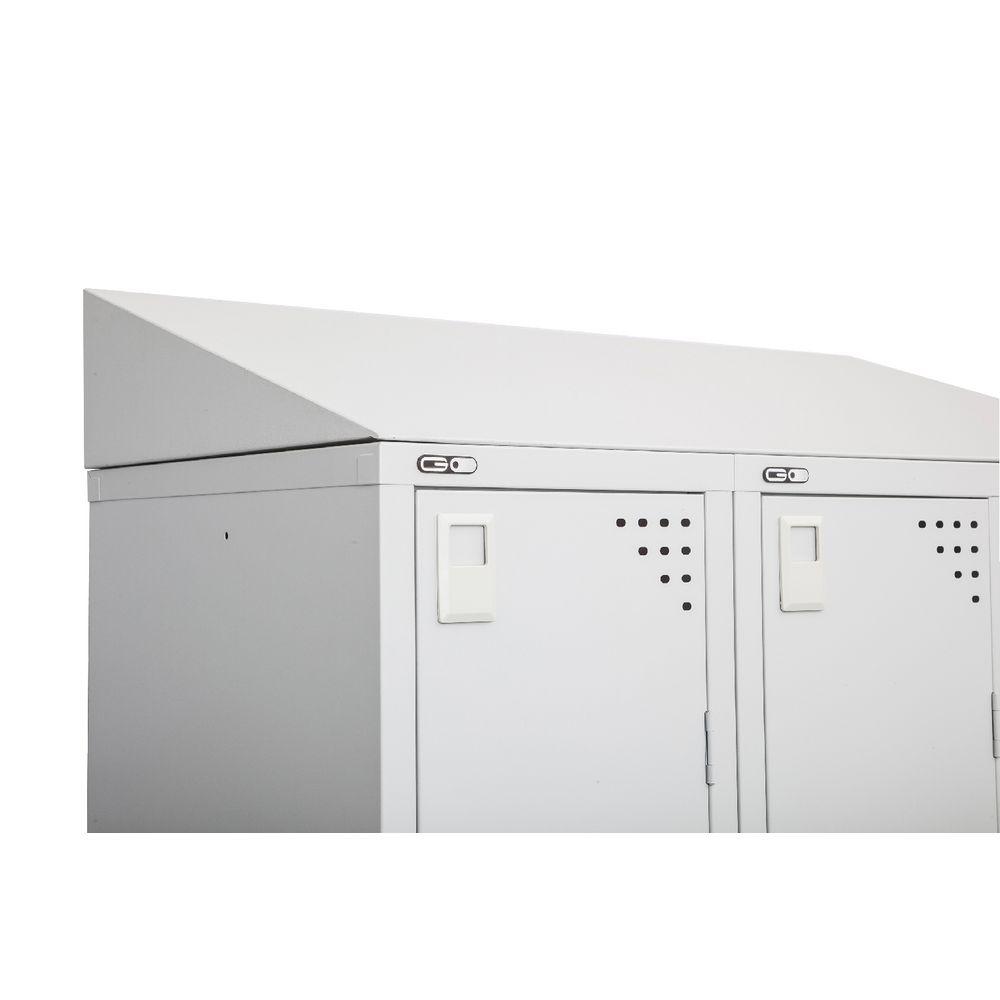Go Office Sloping Top For Single Locker Officeworks
