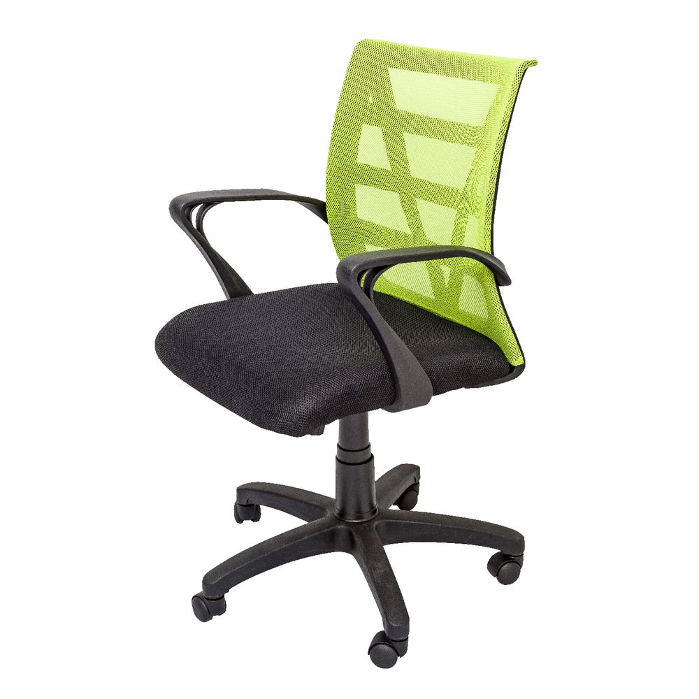 Green chair for office - Rapidline Vienna Chair Green