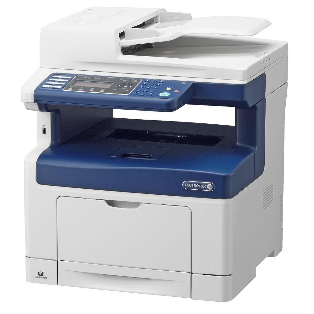 Xerox color laser printers - Fuji Xerox Docuprint Mono Laser Mfc Printer M355df