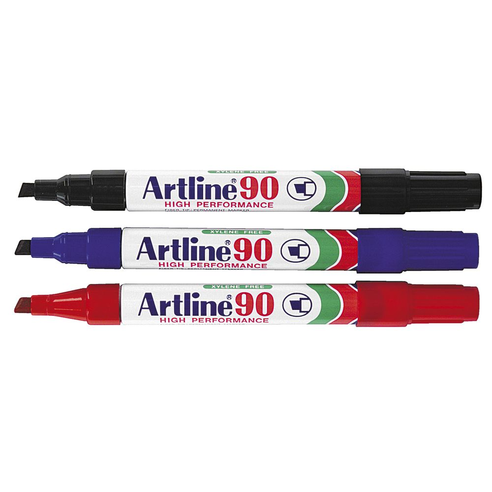 Artline : Artline permanent markers assorted colours pack