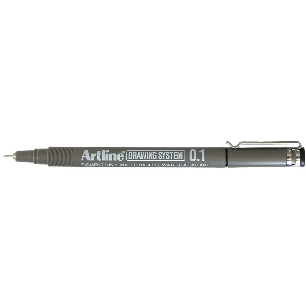 Color drawing pens for artists - Artline 231 Drawing System Pen 0 1mm Black