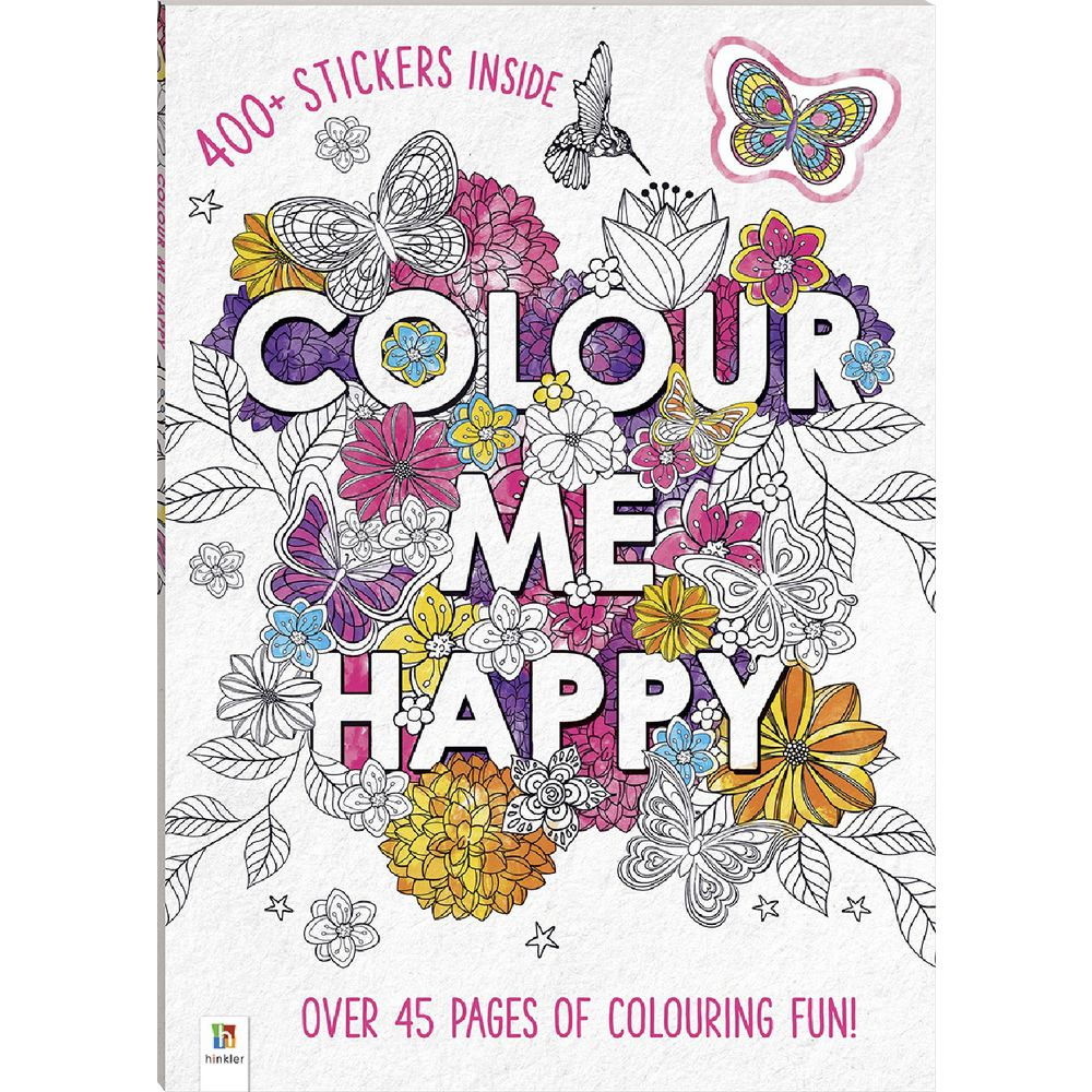 Color book for me - Hinkler Colour Me Happy Book