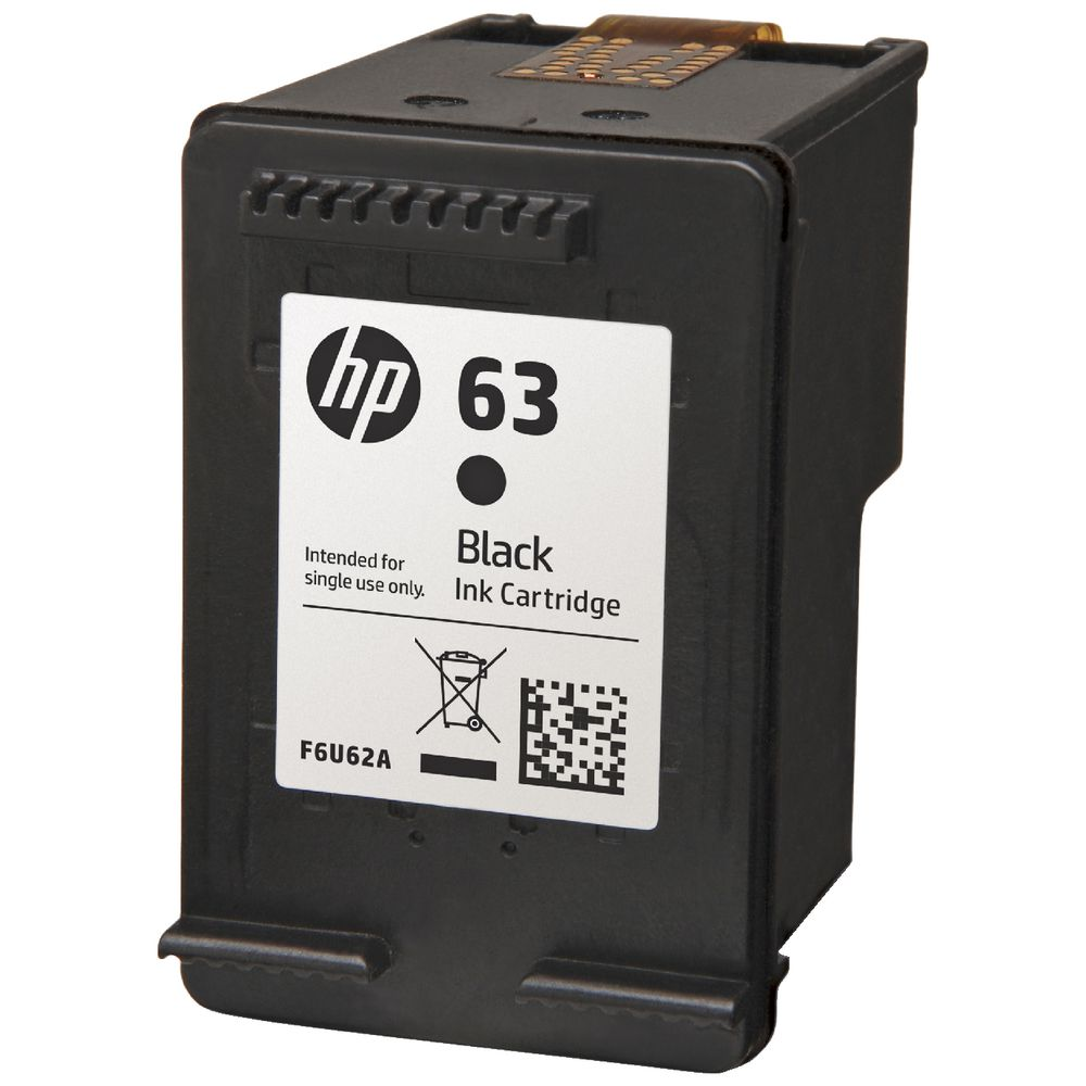 HP 63 Ink Cartridge Black and Tri Colour 3 Pack ...