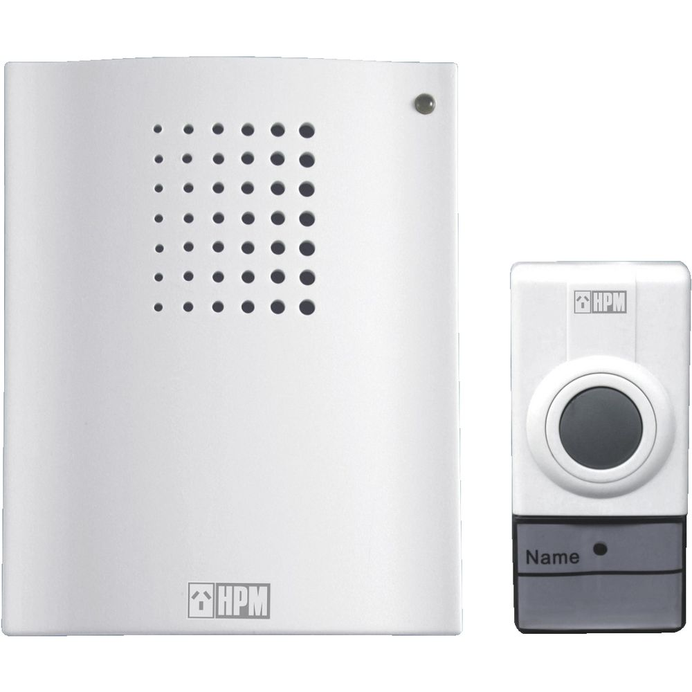 Hpm Battery Operated Wireless Doorbell Chime Officeworks