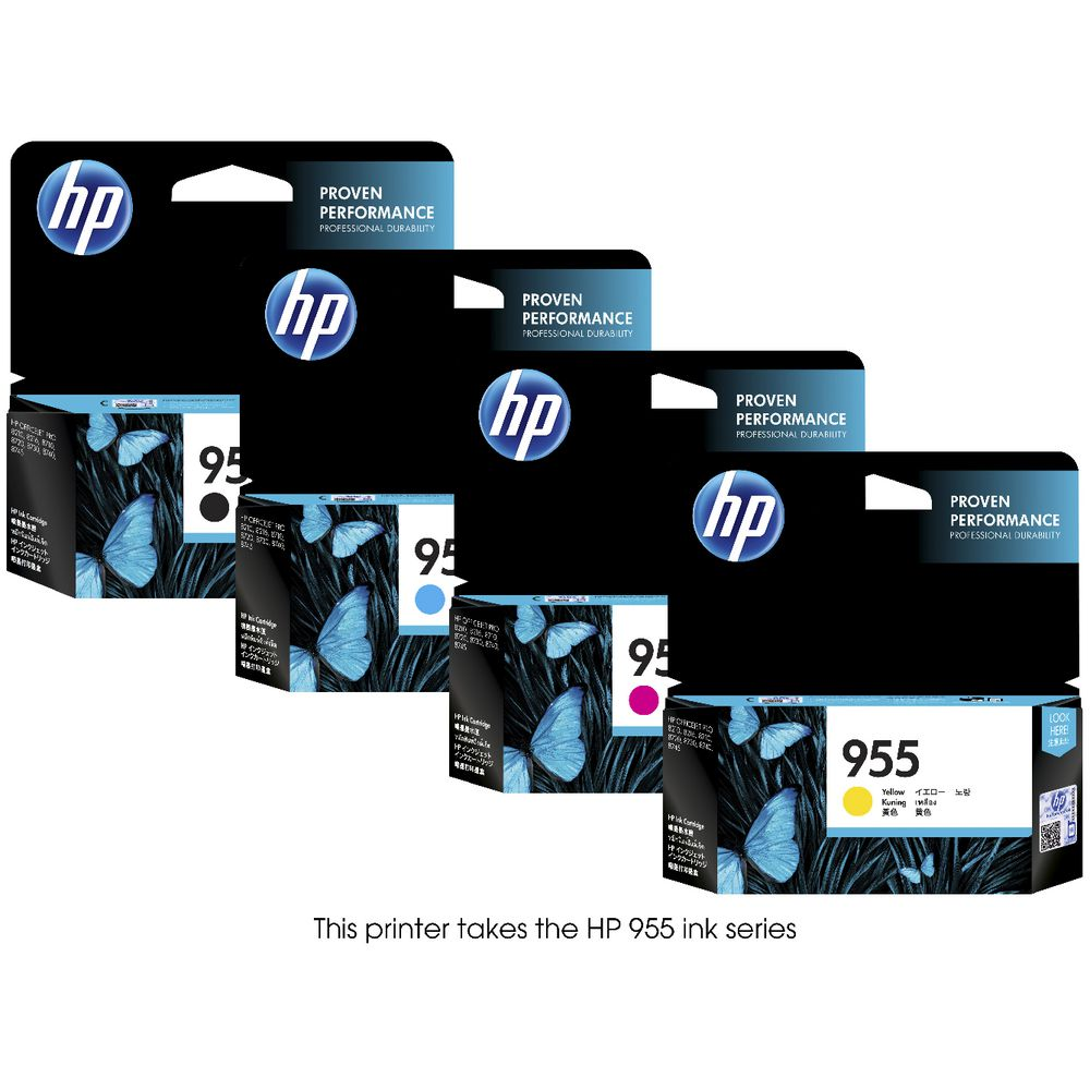 HP OfficeJet Pro Wireless Inkjet MFC Printer 8740