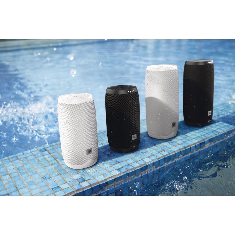 JBL Link 10 Portable Speaker Google Assistant Black