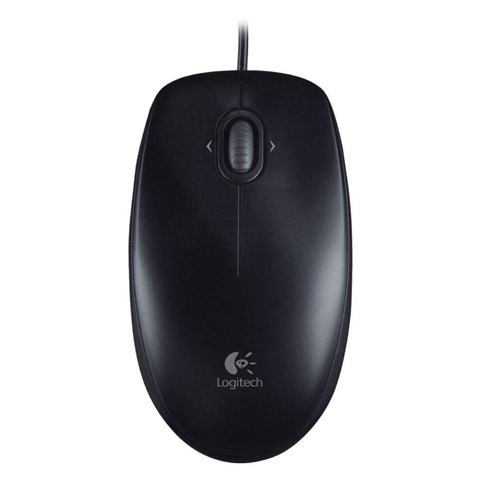 757b1030a06 Logitech Corded Mouse Black M100R   Officeworks