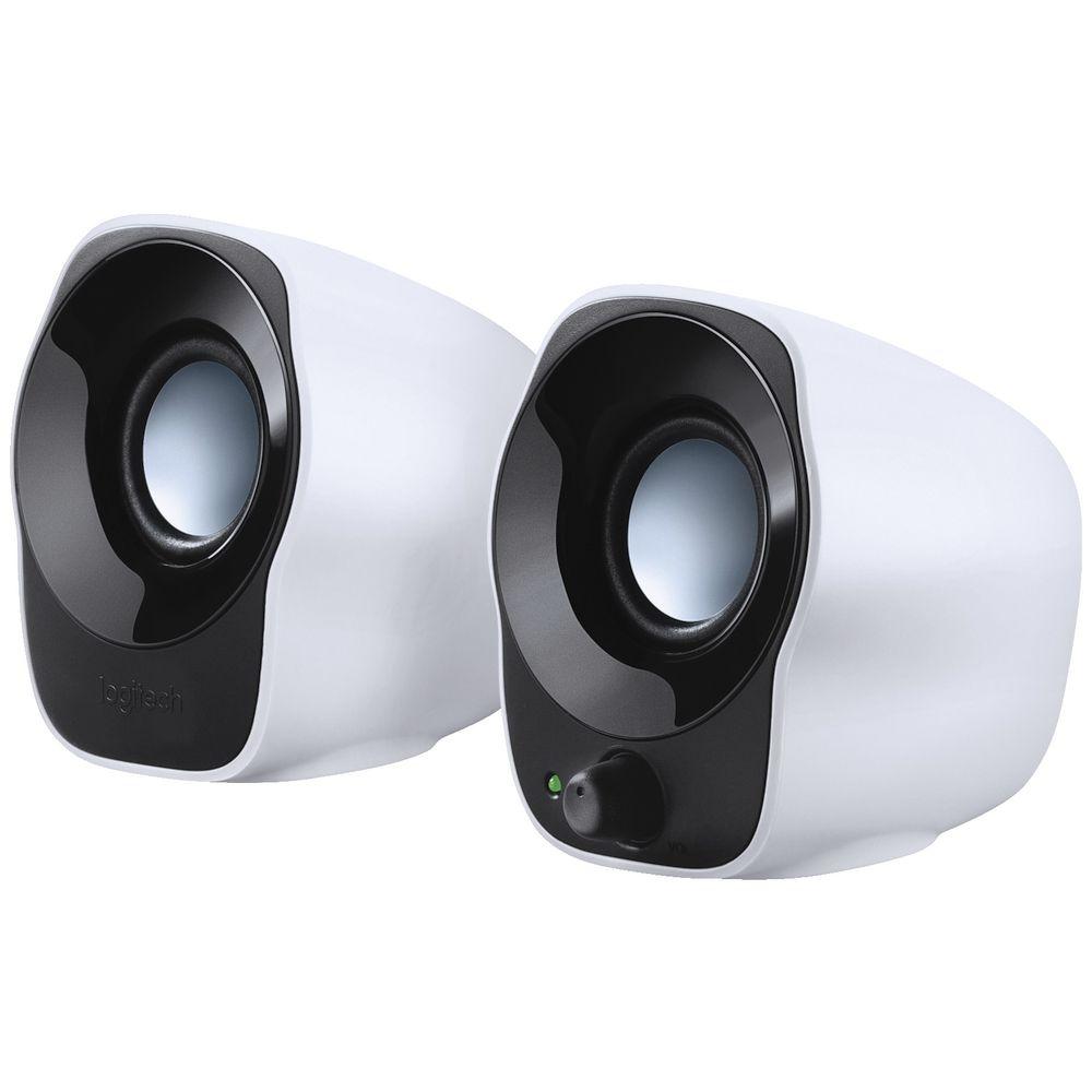 bf61bdd781a Logitech 2.0 Speakers White Z120 | Officeworks