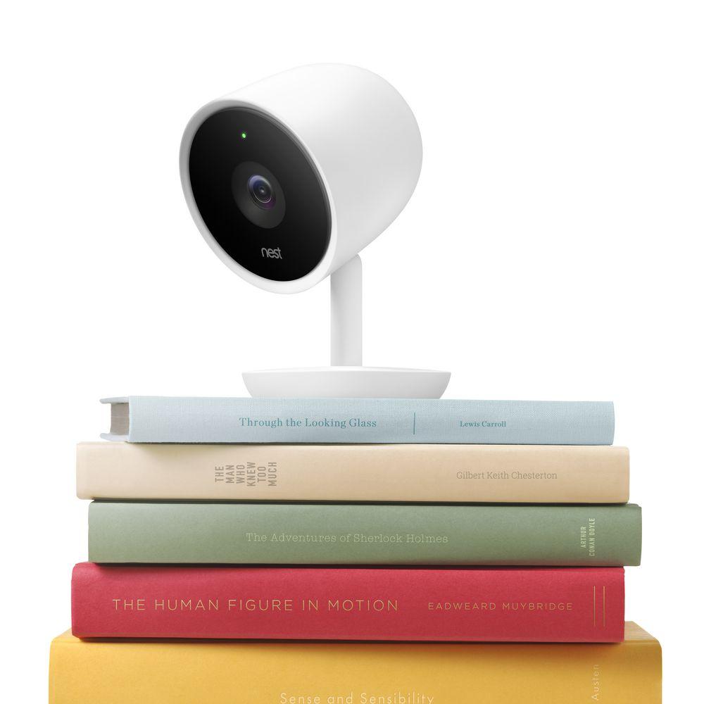 Nest Cam IQ Security Camera White