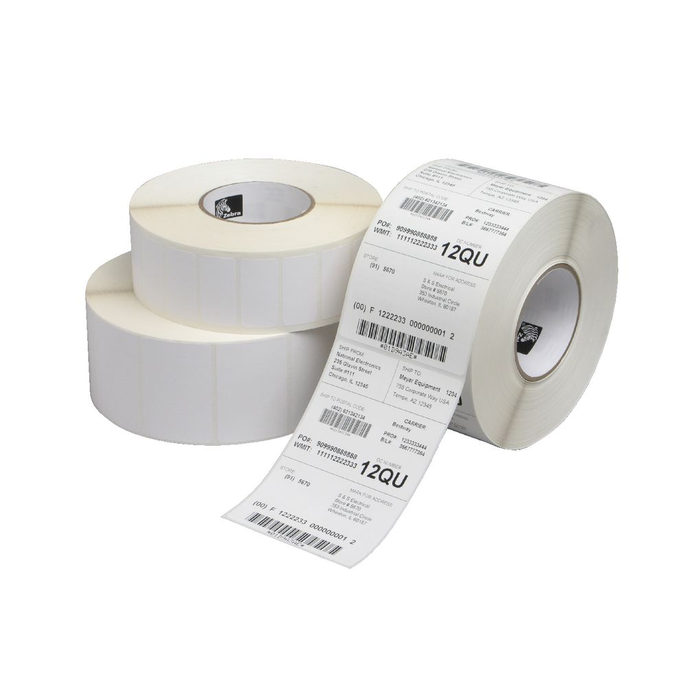 Zebra Direct Thermal Label Roll 75 x 50 mm 2750 Labels ...