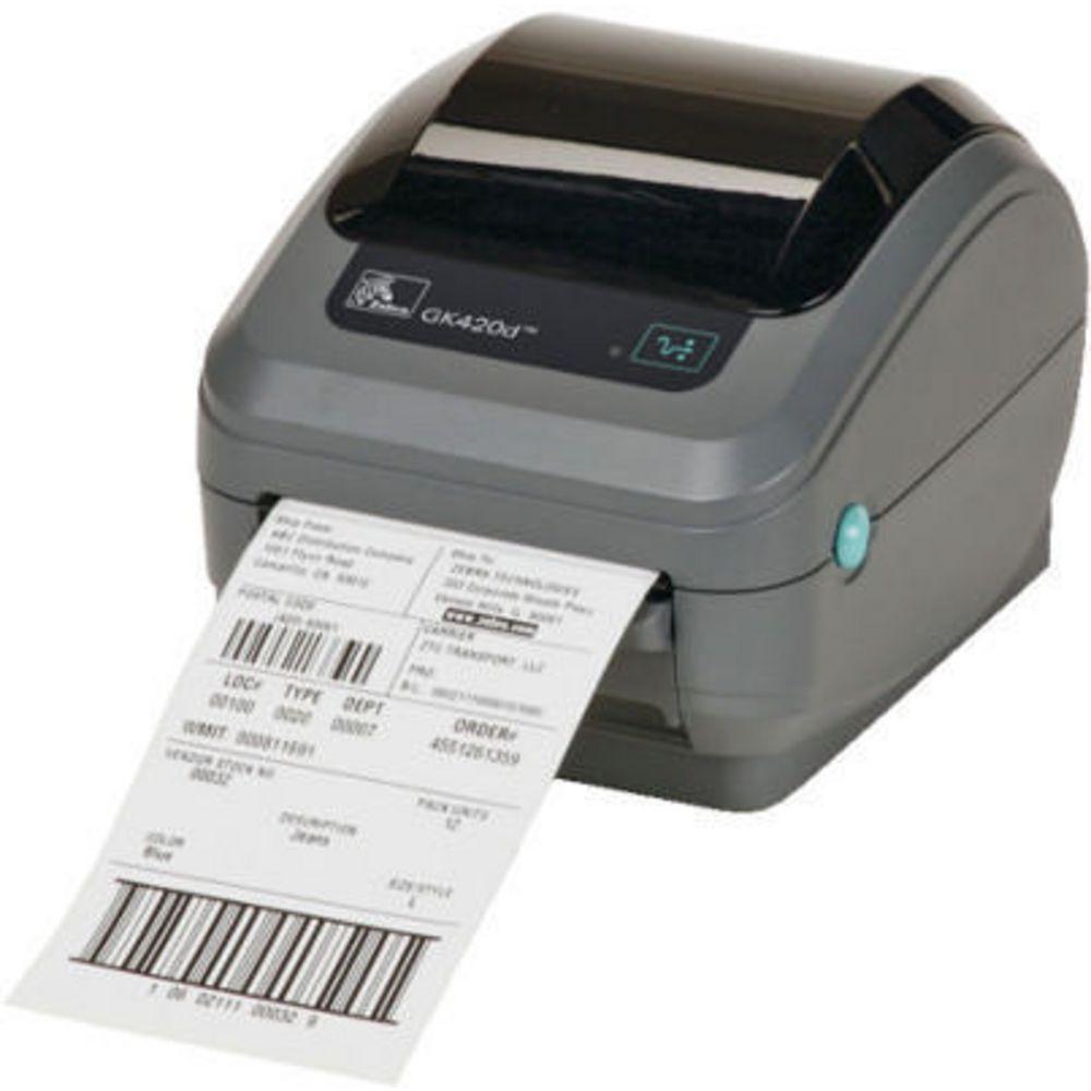 Zebra Direct Thermal Printer GK420d | Officeworks
