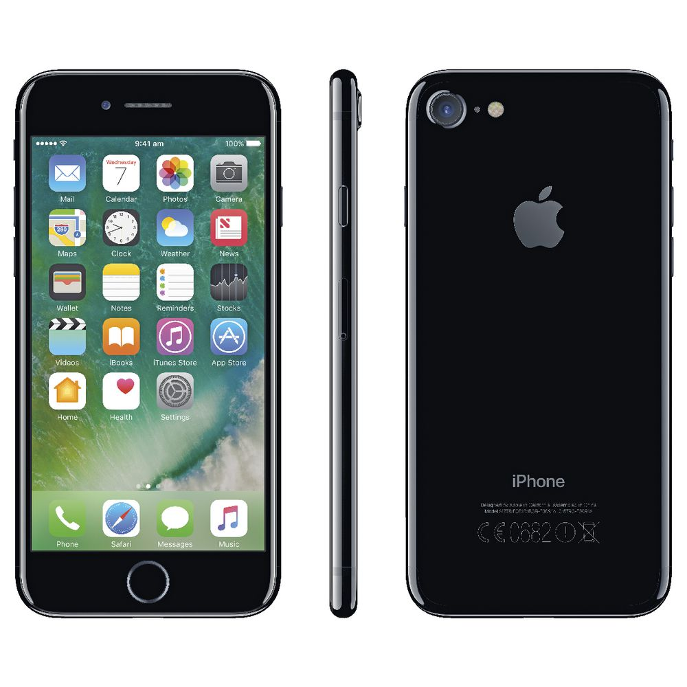 apple iphone insurance iphone 7 128gb jet black officeworks 4613