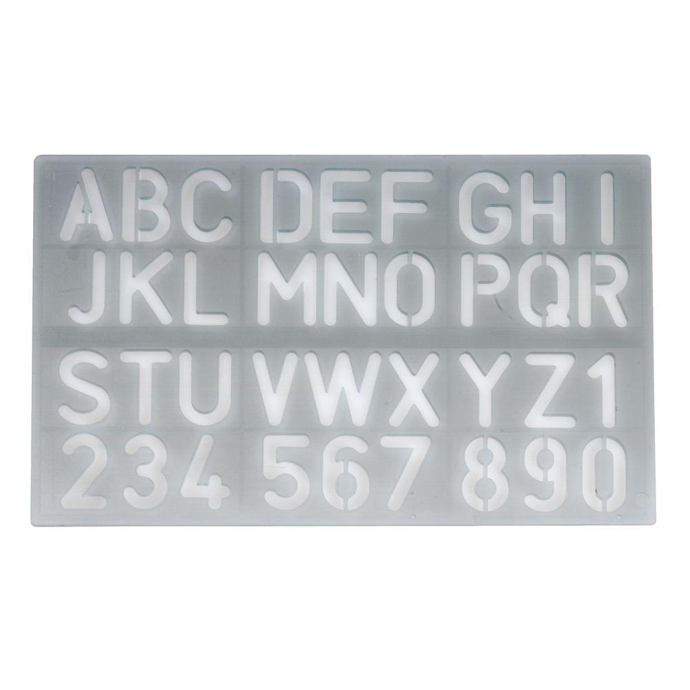stencils u0026 templates letter stencils officeworks