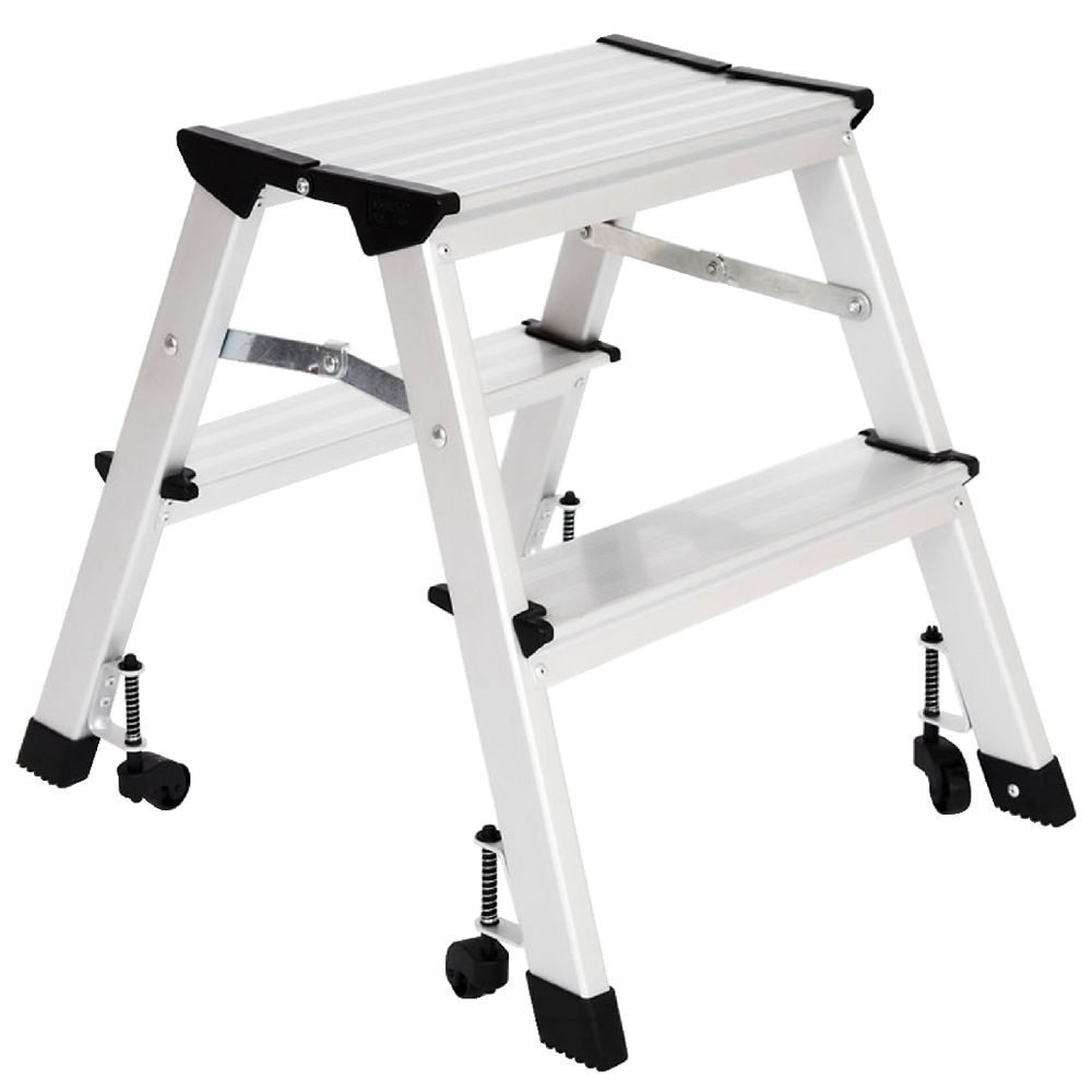 Jastek Aluminium Folding Mini Step Ladder Officeworks