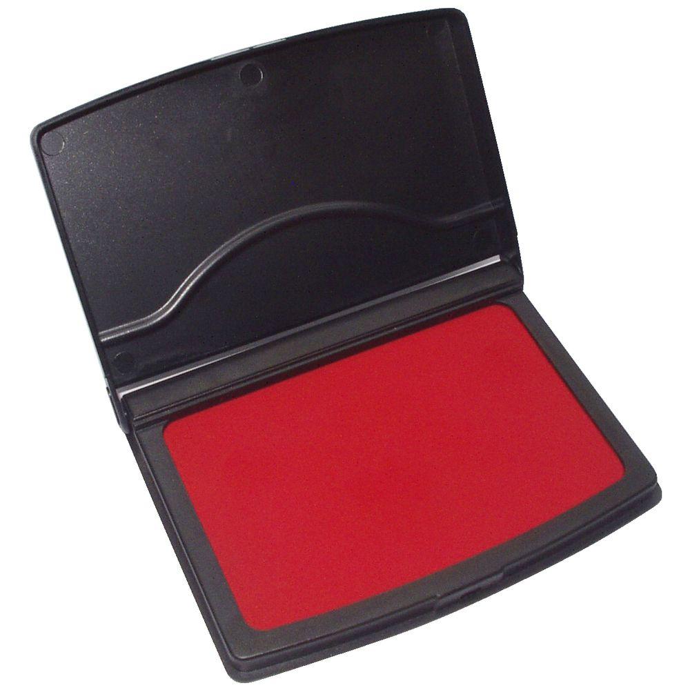 Deskmate Stamp Pad Red   Officeworks
