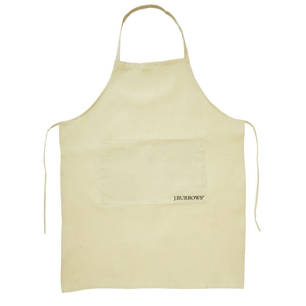White leather apron lecture - J Burrows Artist Apron
