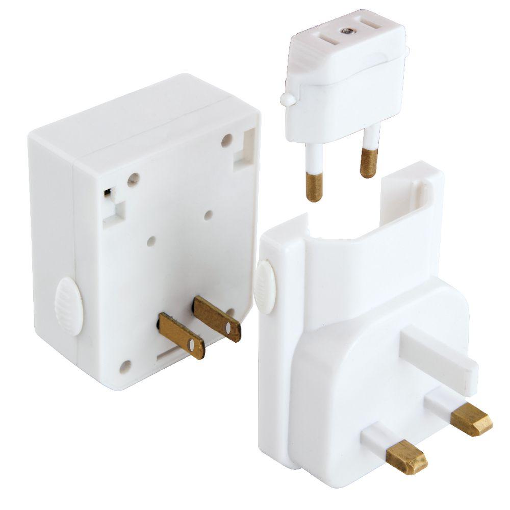 Jackson Universal Multi Voltage Twin Usb Travel Adaptor Officeworks