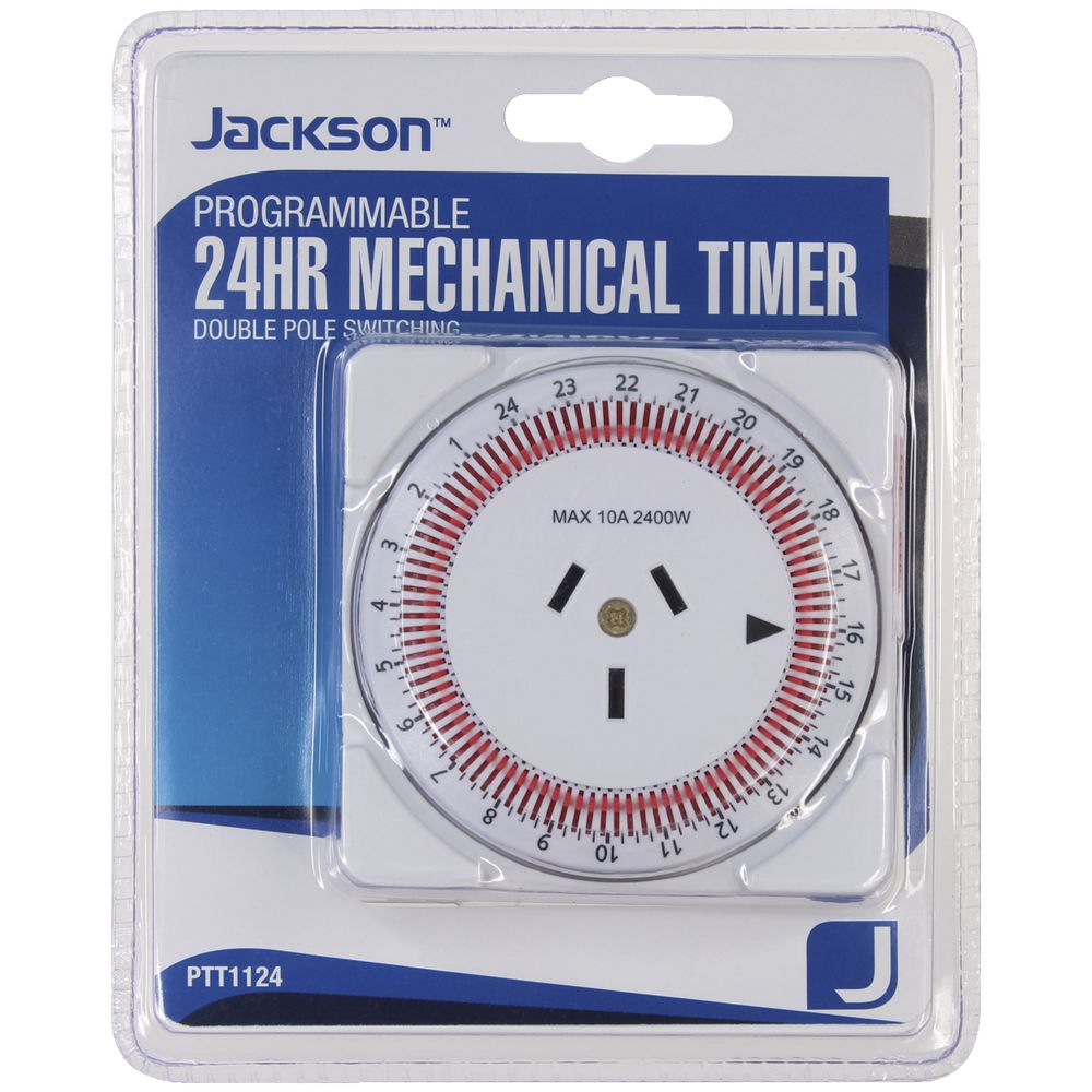 Jackson Compact 24 Hour Power Timer