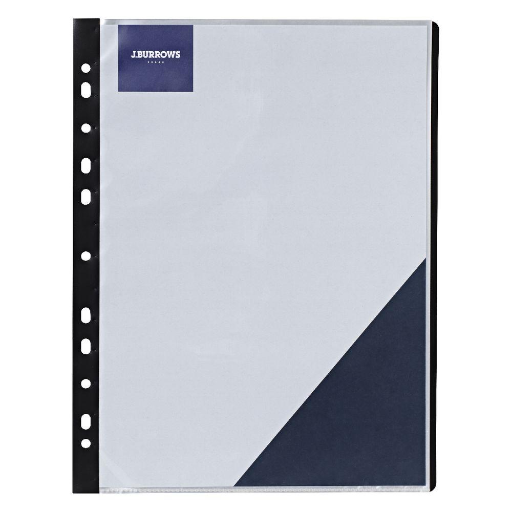 J.Burrows Binder Display Books A4 20 Pockets 9341694243764