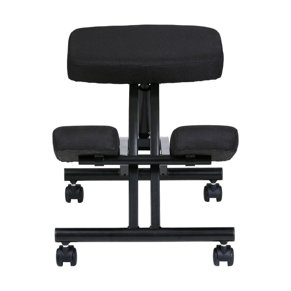 Adjustable Kneeling Stool Black  sc 1 st  Officeworks & Adjustable Kneeling Stool Black | Officeworks islam-shia.org