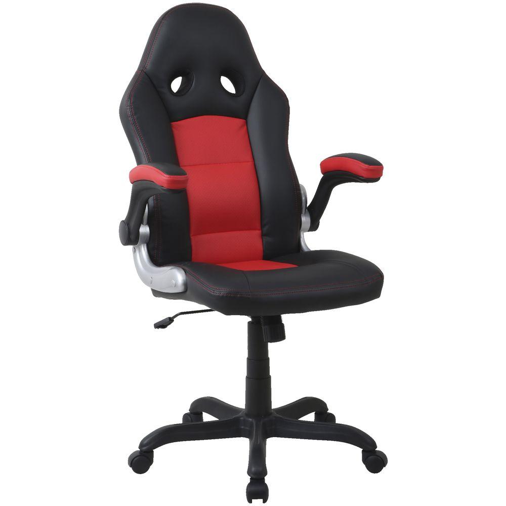 Bathurst Racer High Back Chair Black Officeworks