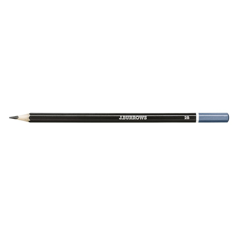 j burrows 2b graphite pencils 12 pack officeworks. Black Bedroom Furniture Sets. Home Design Ideas