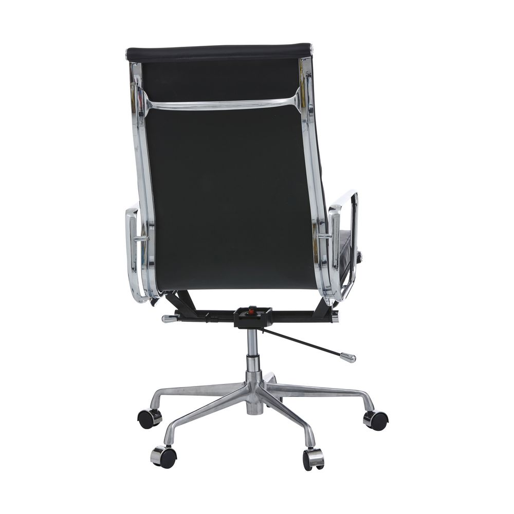 matrix executive high back chair black officeworks. Black Bedroom Furniture Sets. Home Design Ideas