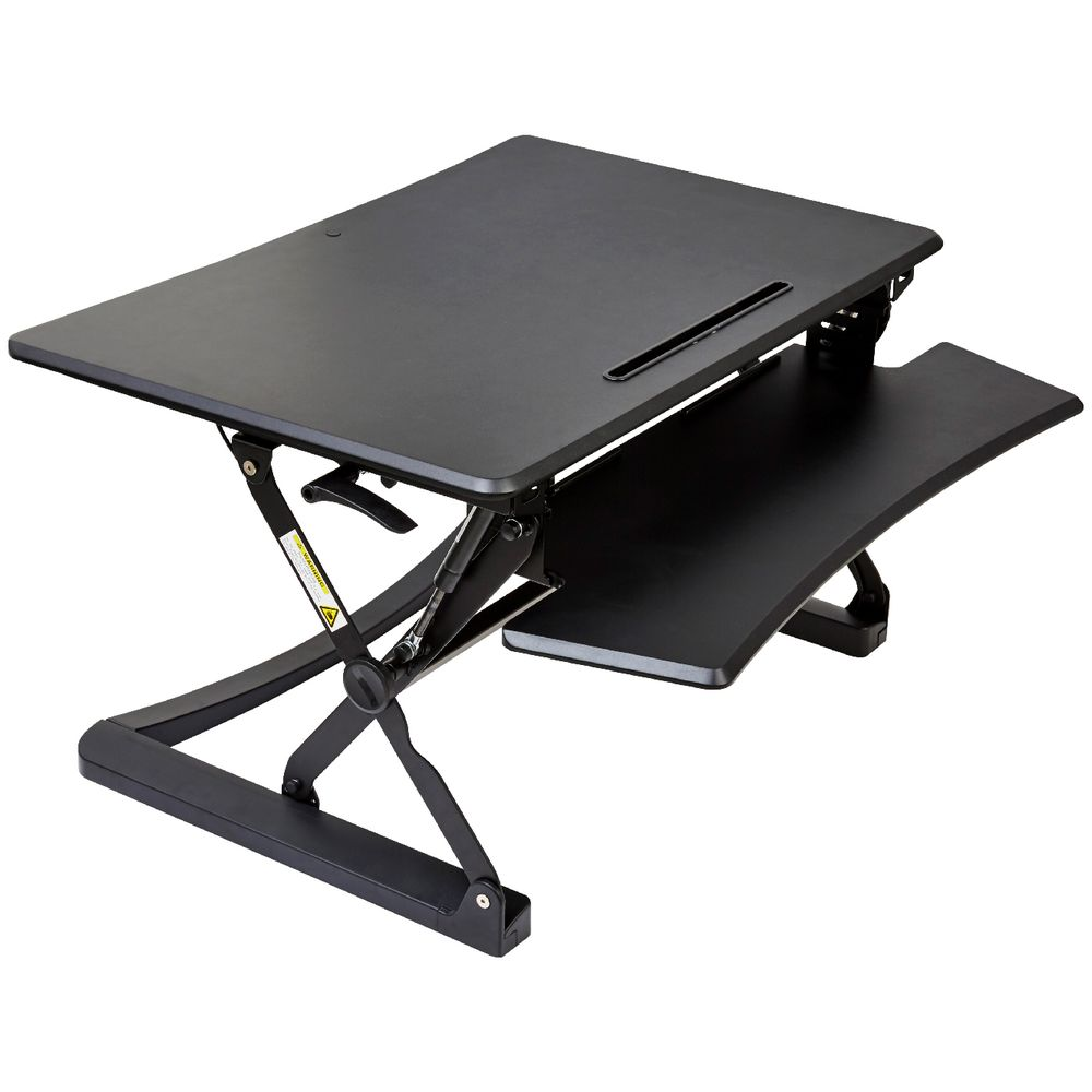 Professional Sit Stand Desk 890mm Black 9341694453552 Ebay