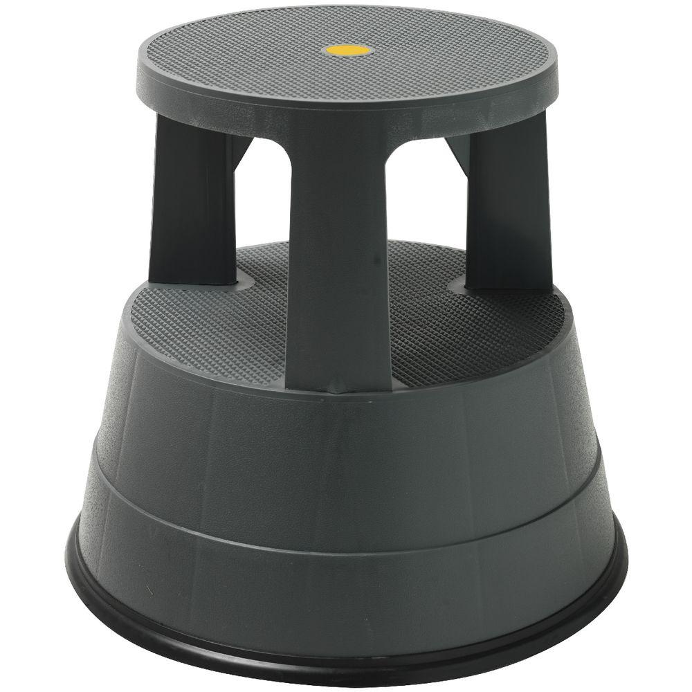 J Burrows Rolling Kick Stool 150kg Capacity Officeworks