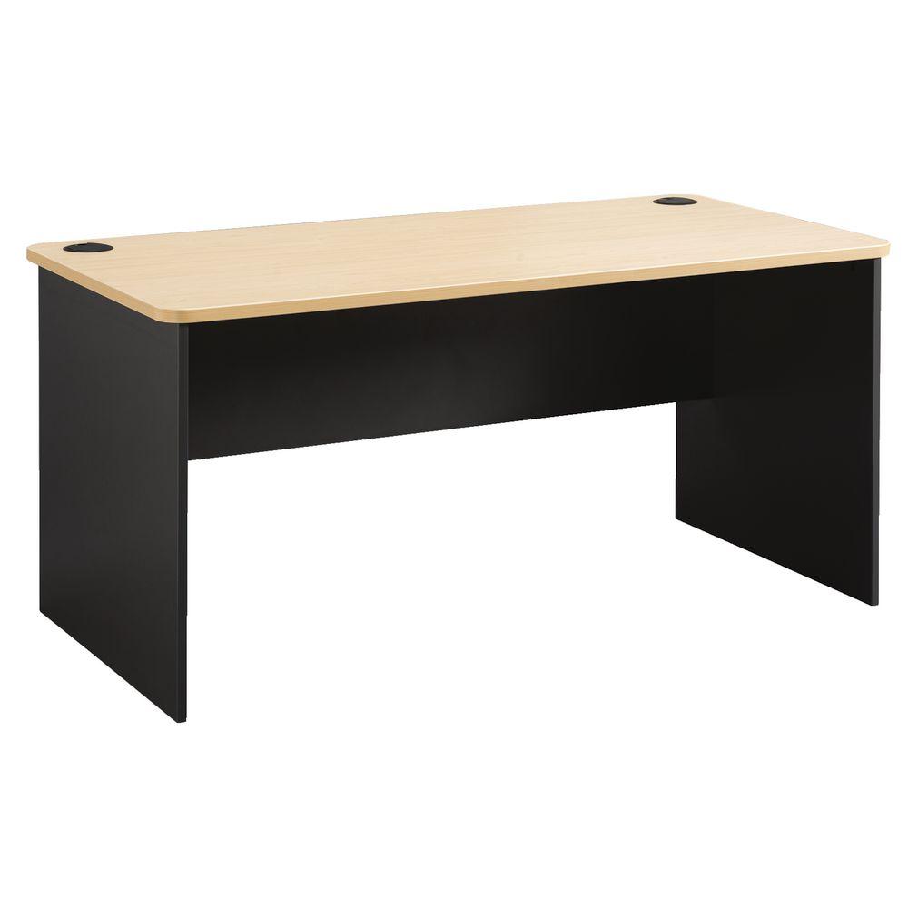 outlet store af084 8fdfa Toro Straight Desk 1800mm Maple/Grey