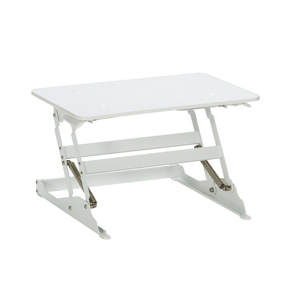 Wynston Sit Stand Desk Small White Officeworks