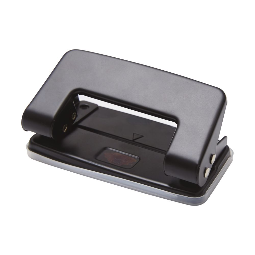 Blue Heavy Duty Double Hole Punch for Book Binder Punch Handcraft Puncher