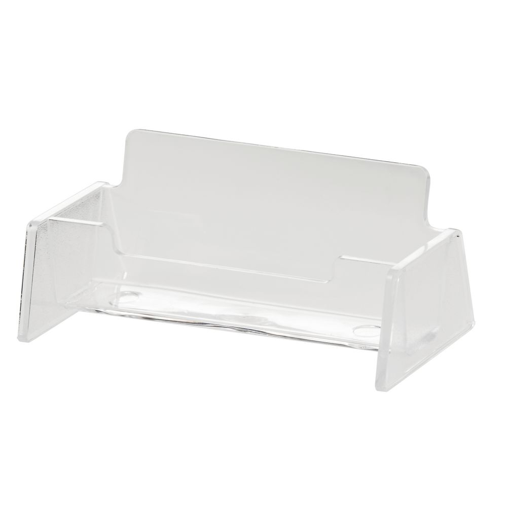 J.Burrows Business Card Holder Clear | Officeworks