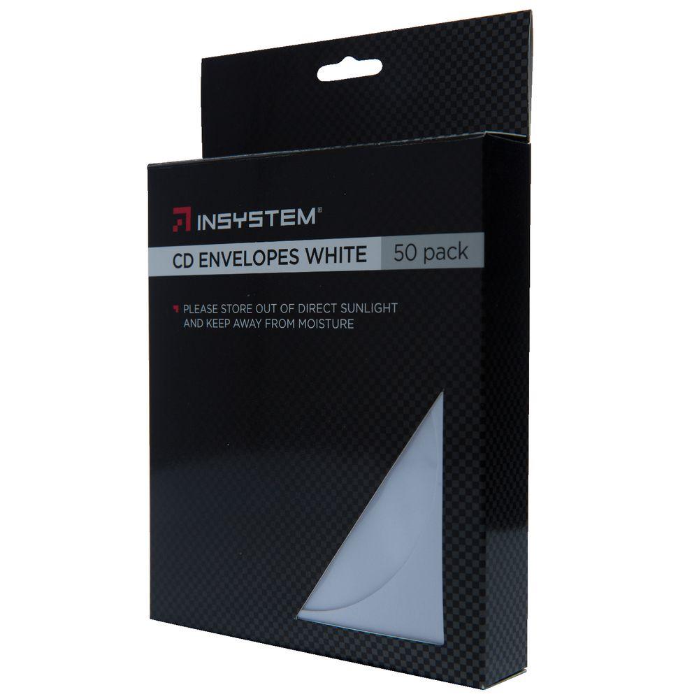 InSystem CD Envelopes White 50 Pack | Officeworks