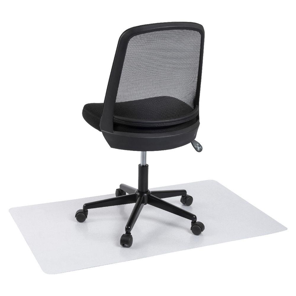 Keji 750x1200 Hard Floor Anti Static Rectangle Chair Mat Officeworks