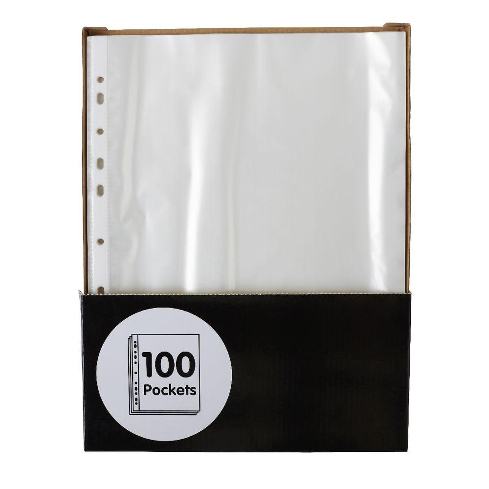 Keji Sheet Protector A4 Light Weight 100 Pack | Officeworks