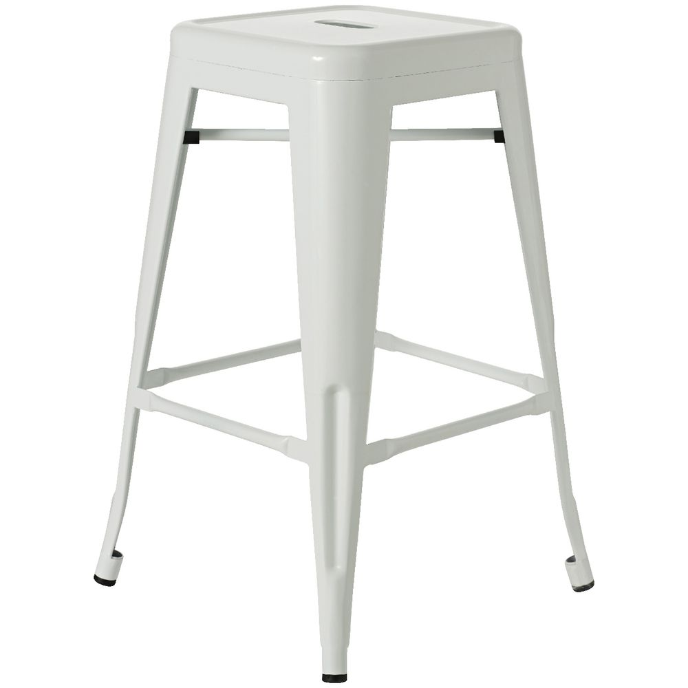 Remarkable Steel Stacking Stool Gloss Black Uwap Interior Chair Design Uwaporg
